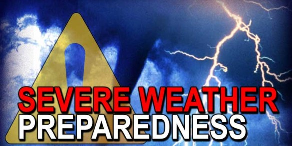 Don't be afraid, be prepared! How to Prepare for Severe Weather